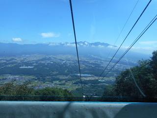 ゴンドラの窓からの風景.JPG