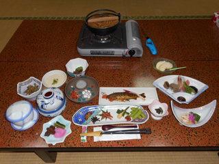 光山荘・夕食.JPG