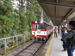 奥泉駅より乗る列車.JPG